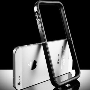 Bumper negro iPhone 5