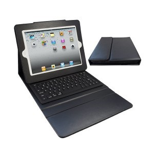 Funda con teclado bluetooth iPad 2-3