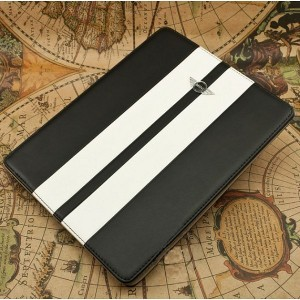 Funda Cuero Mini-Cooper iPad2 y 3