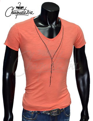 Camiseta Slim Fit, Ref: 12