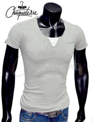 Camiseta Slim Fit, Ref: 14