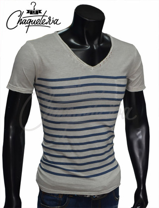 Camiseta Slim Fit, Ref: 17