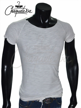 Camiseta Slim Fit, Ref: 19