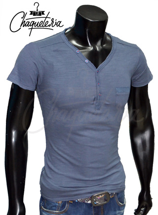 Camiseta Slim Fit, Ref: 06