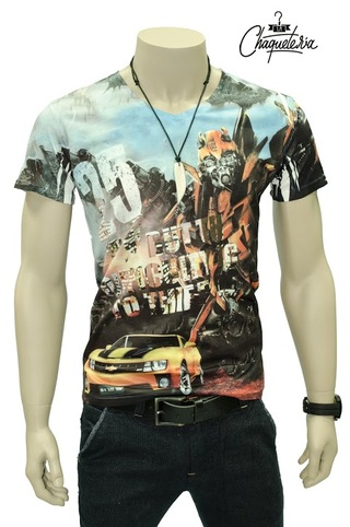 Camiseta Slim Fit, Ref: Bumble Bee Marca Lachaqueteria