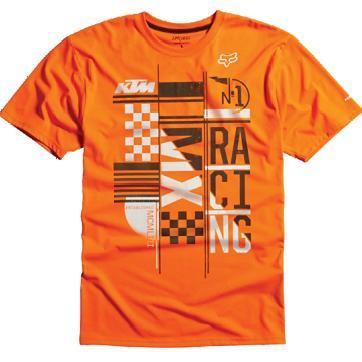 Camiseta Fox KTM Konstruct Tech Agent Orange 09446-289