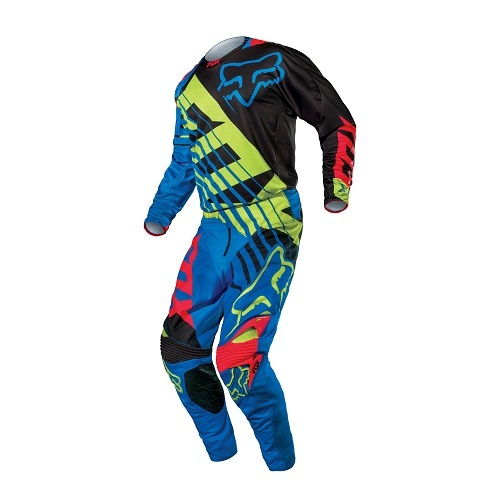 Combo Fox Racing 360 Savant Buzo Pantalon Azul 10770/10771-002