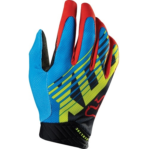 Guantes Fox Airline Savant Azul 12698-002