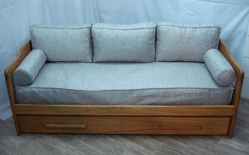 Div n cama con respaldo comprar en viviendo a gusto - Camas supletorias y divanes ...