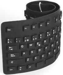 Teclado Flexible Noganet Nkb 76ng Usb 112 Teclas Color Negro