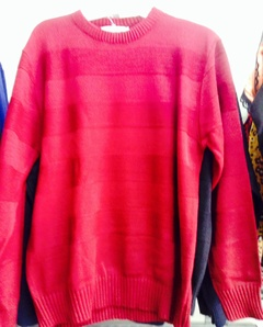 Sweater rayas punto