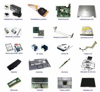 Partes Notebook Hp Compaq Olivetti Commodore Packard Acer