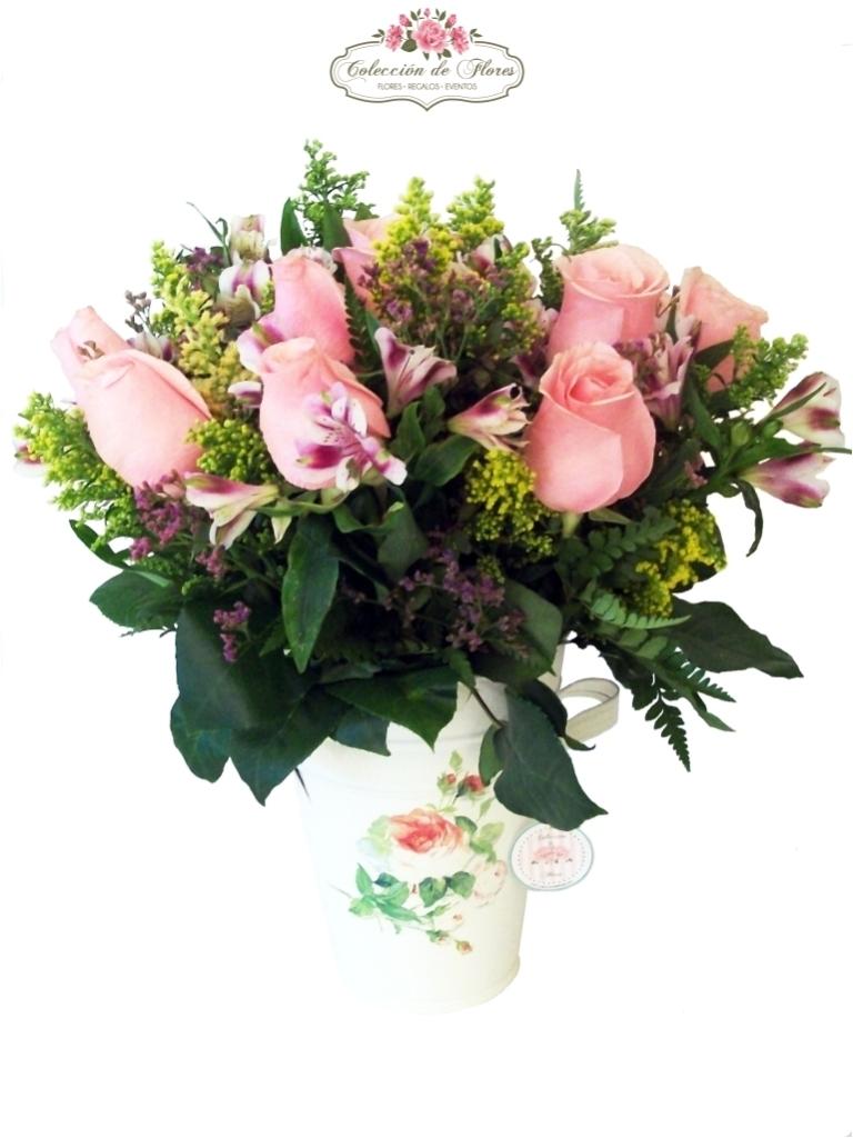 Hacer arreglos florales decorar tu casa es facilisimocom - Adornos florales para casa ...