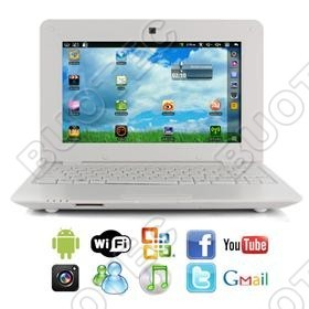 Mini Netbook C/ Android - Modelo 2013 - Exp 32gb