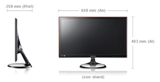 Monitor TV LED Samsung  Full HD 27