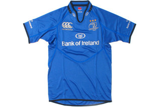 Camiseta de Rugby Leinster 2013/14 European S/S Pro Rugby Shirt Madison Blue