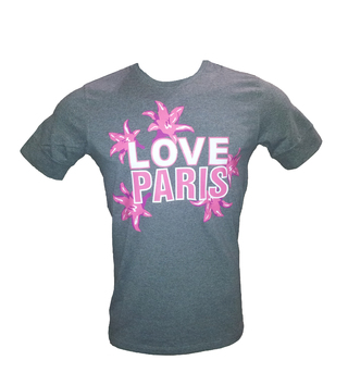 Remera de Rugby Stade Frances I love Paris