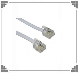 Cable Patch Cord 2mts de telefono.