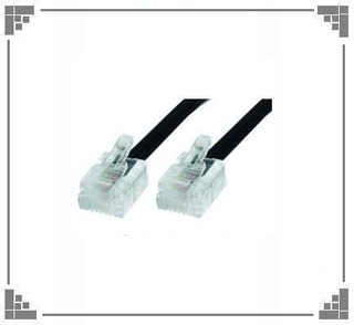 Cable Patch Cord 5mts de telefono.