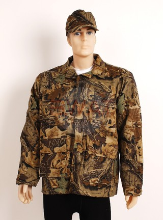 Camisaco Camuflado - Forest Leather