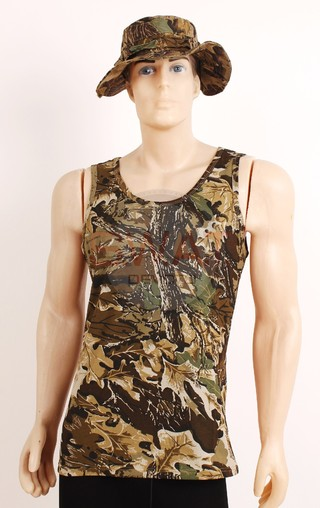 Musculosa Camuflada - Forest Leather