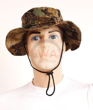 Sombrero Camuflado - Forest Leather