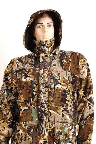 Campera Tricapa Camuflada - Forest Leather