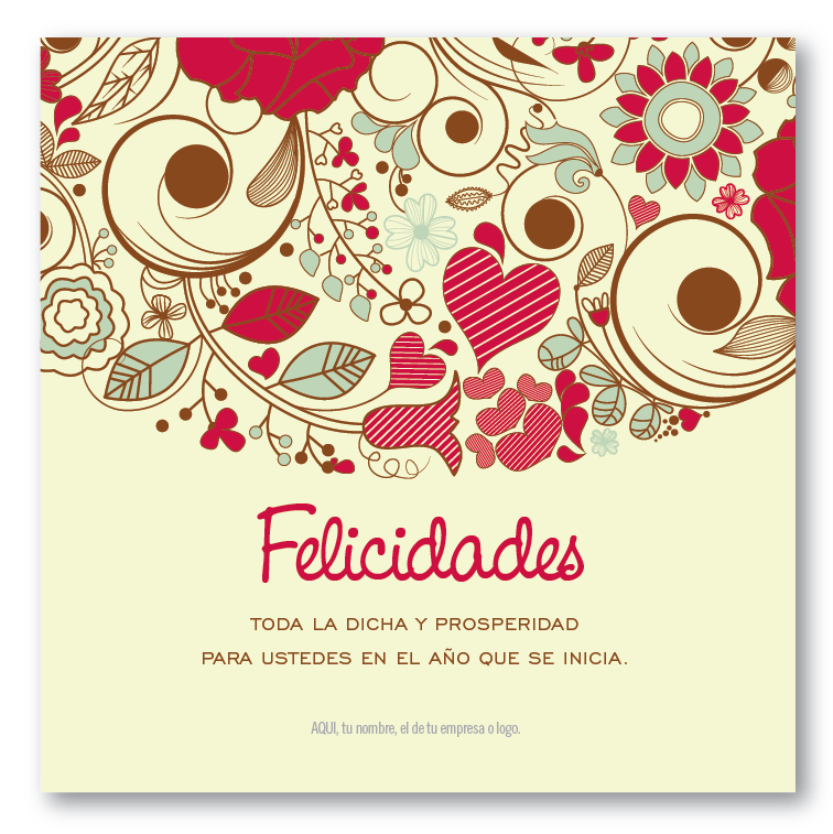 Flores y Más :: tarjetas para navidad y fin de año — Gráfica 21