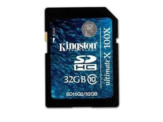 Memoria Sdhc Kingston De 32gb Clase 10 Ultimatex 100x