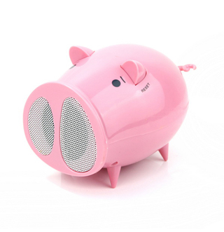 Parlante/Radio Chancho USB - Regalos Originales