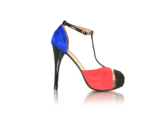 Sandalia Sylvie color block