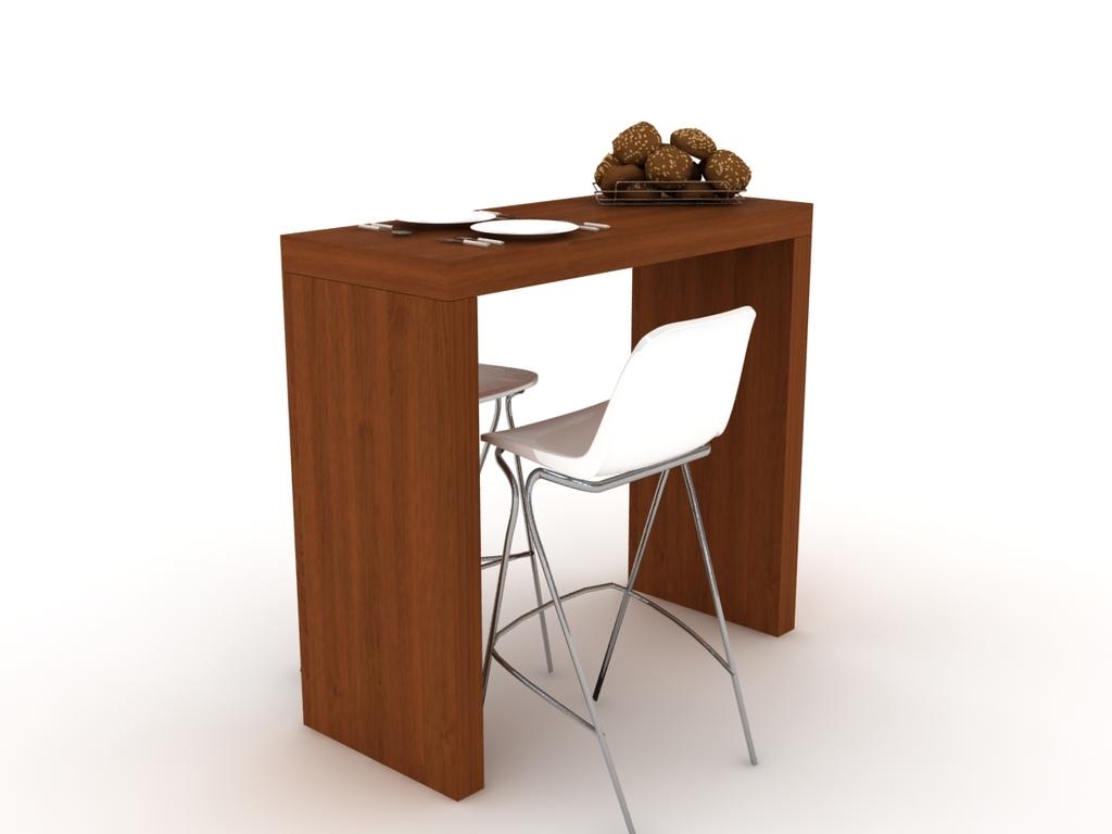 Mesa barra desayunador madera comprar en modulus for Mesa desayunador