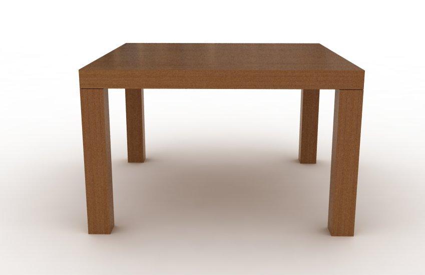 Mesa mies cuadrada madera comprar en modulus for Mesas de cocina cuadradas