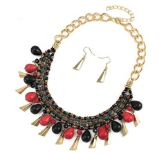 Collar pepas multicolor