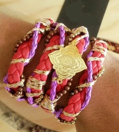 pulsera Red and Pink