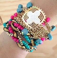 Pulsera maxi color