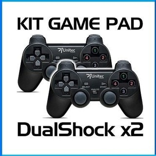 Kit Control De Juegos Gamepad Usb Dual Shock Análogo Digital