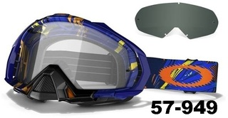antiparras para motocross OAKLEY Mayhem MX incluye tear off , funda y mica tonalizada de regalo!