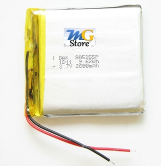 Batería de Litio para Tablet Samsung, mp3 etc. 3,7 V 2600mah
