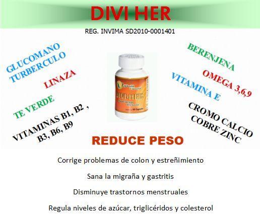 DIVI-HER Cápsulas - Comprar en divihercolombia