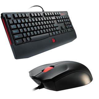 Kit TT eSports Gamer Teclado Knucker + Mouse Azurues