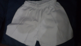 Short Colegial Blanco - DALMATEX