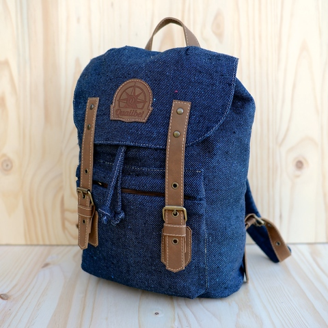 STREET BACKPACK  DARK DENIM