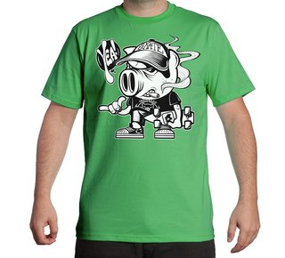 Remera hombre Pig! Skate Yeah!