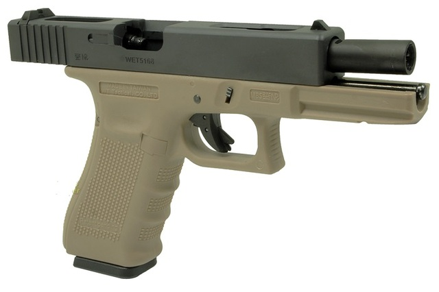 Réplica Glock 18C WE Tan