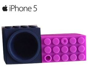 Soundblk para Iphone 5 (Navy/Morado)