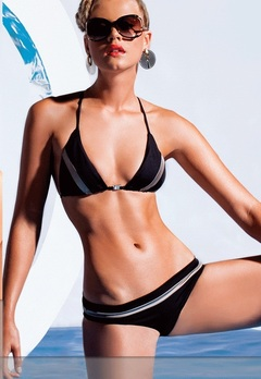 Bikini Triangular Black