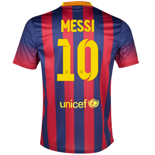 Barcelona Local 13/14 MESSI