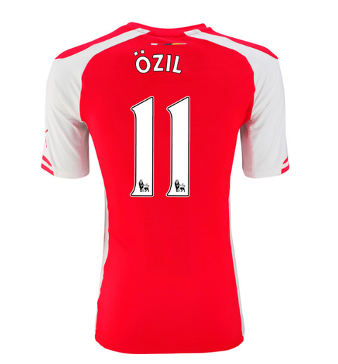 Arsenal FC Local 14/15 OZIL