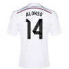 Real Madrid Local 14/15 XABI ALONSO